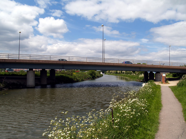 A18 Bridge over New River Ancholme - geograph.org.uk - 178085