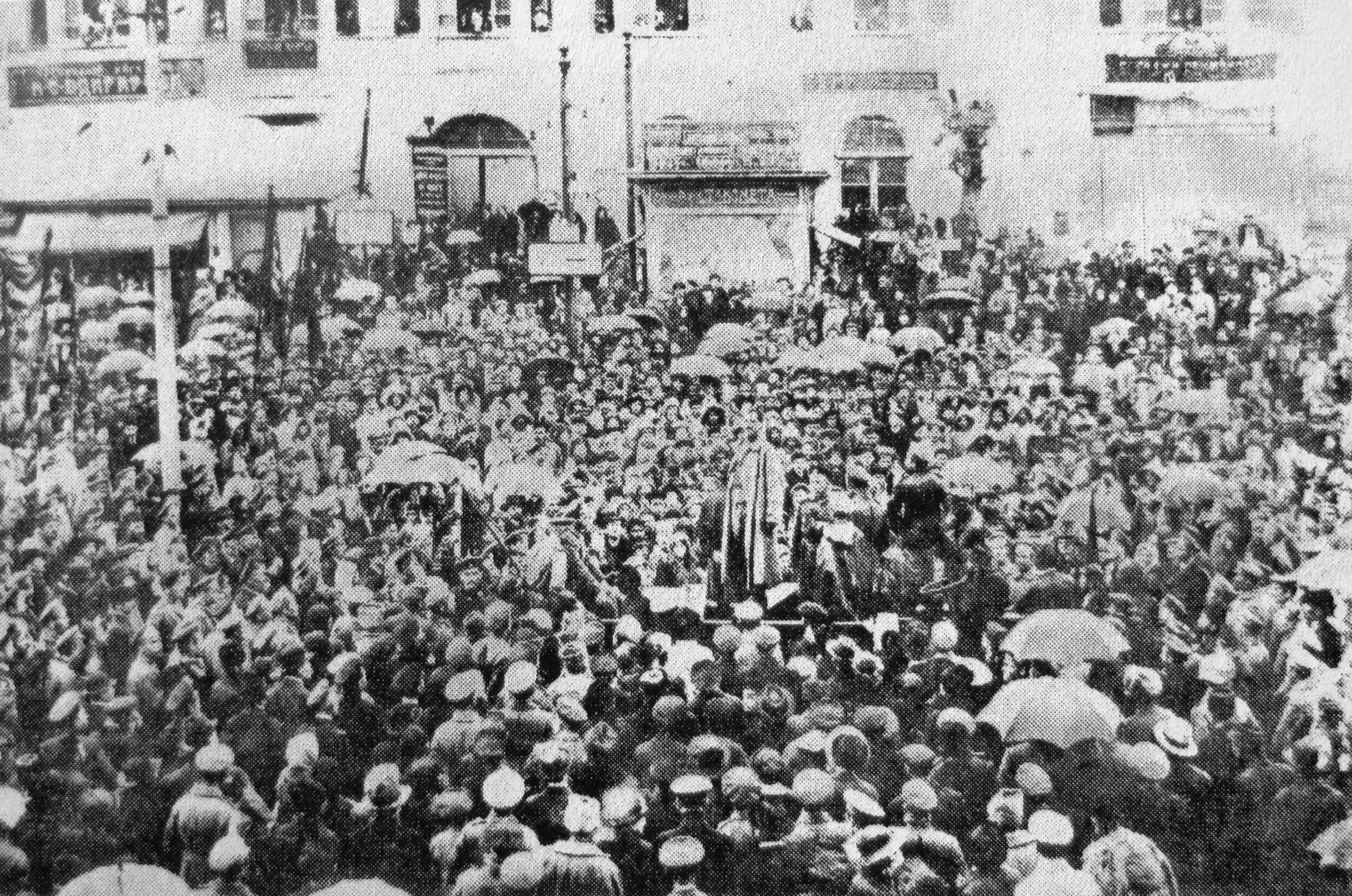 Russian revolution february 1917 essay