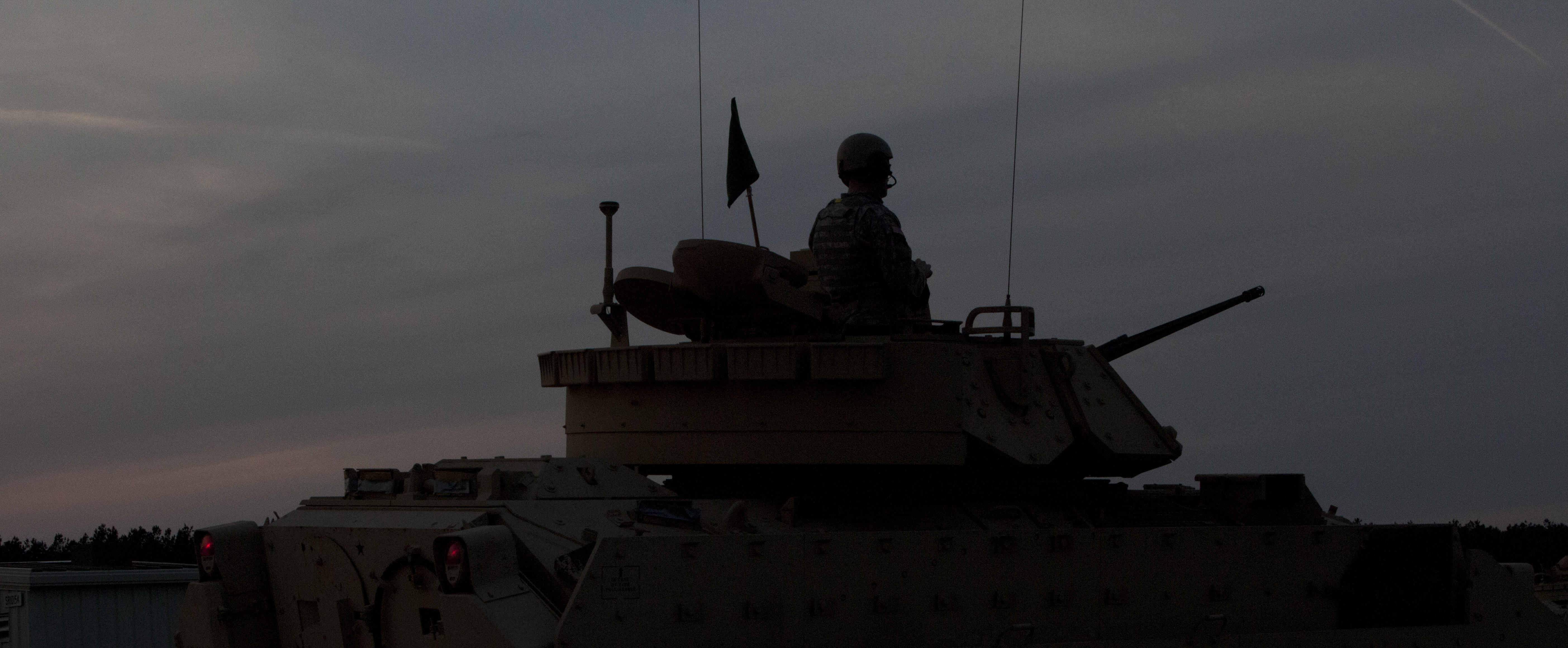 File:A silhouette of an U S  Army Soldier with Alpha Company, 1st
