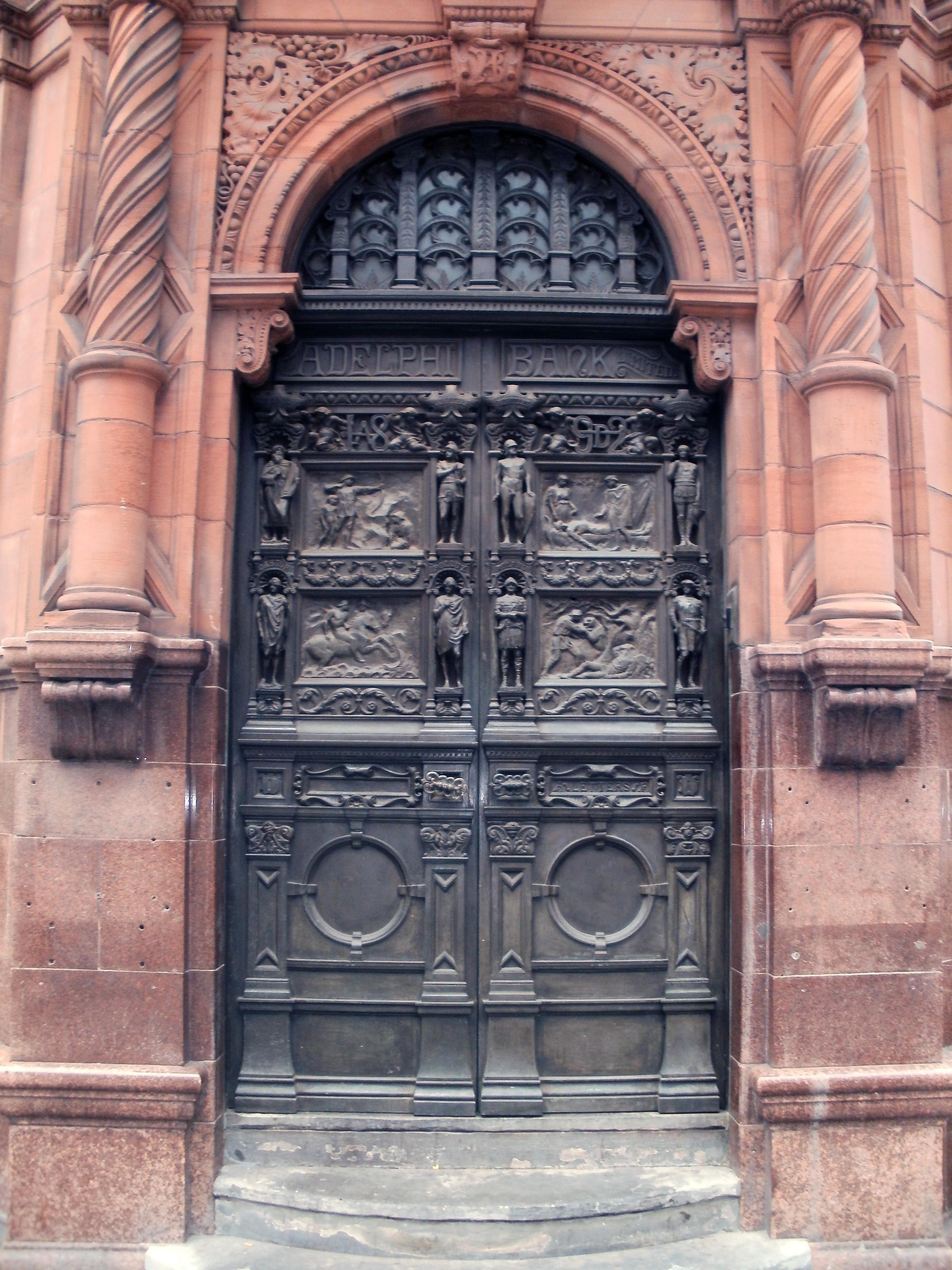 FileAdelphi Bank Door Castle Street Liverpool 22 Aug 2013.jpg & File:Adelphi Bank Door Castle Street Liverpool 22 Aug 2013.jpg ...