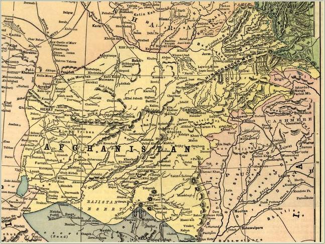 Afghanistan before the Durand Line agreements
