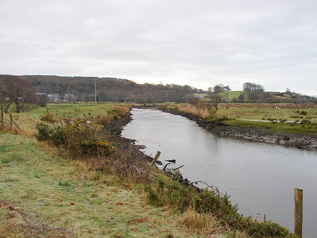 Afon Artro between Llanbedr and Pen-sarn, looking towards Llanbedr - geograph.org.uk - 1077301