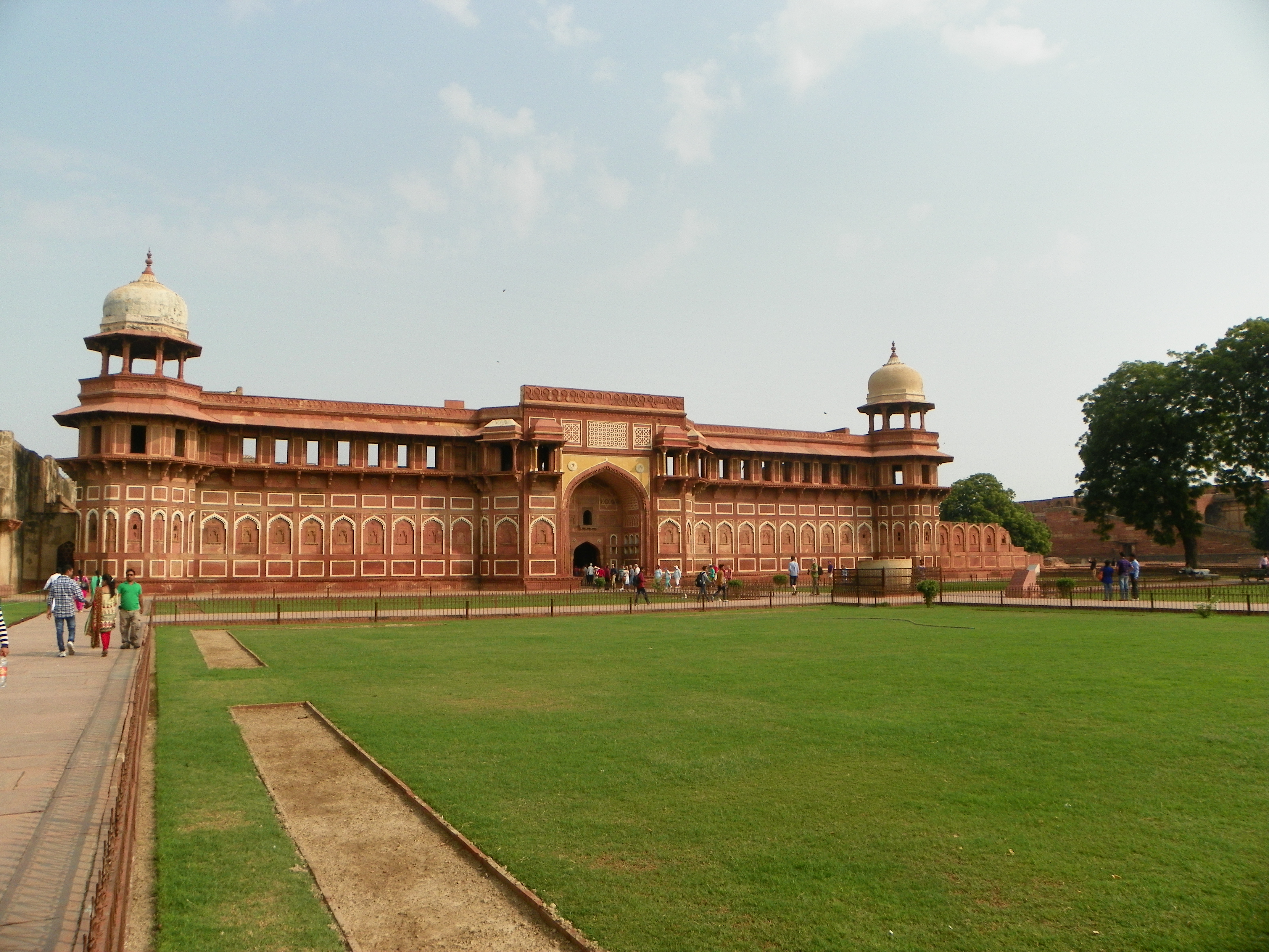 Red Fort-- Agra