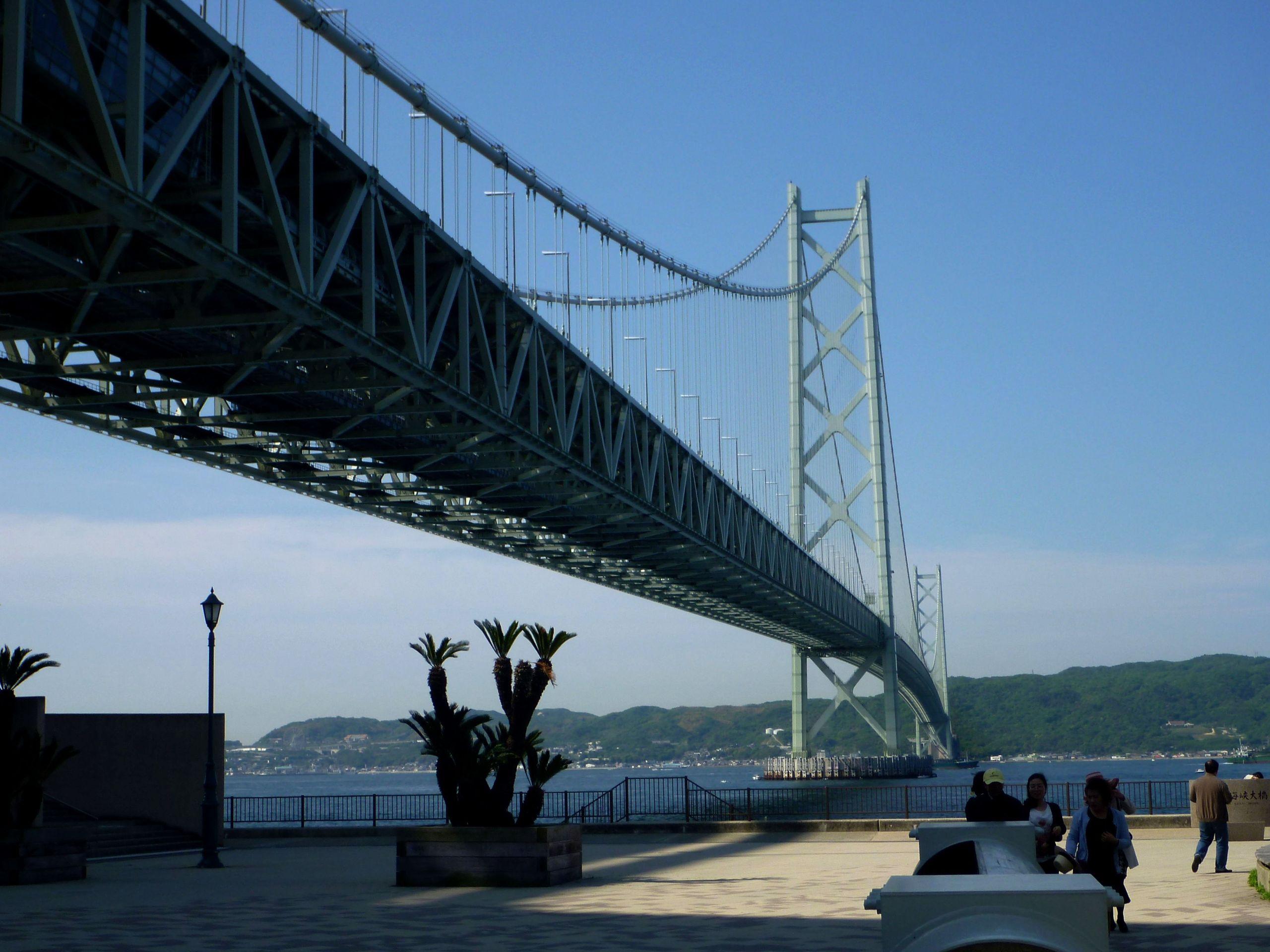 akashi kaikyo bridge construction process