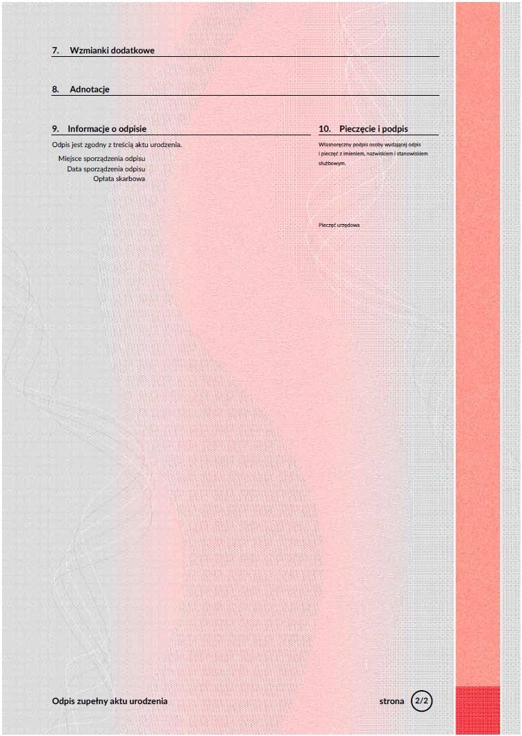 Neue Abschriften in dem Standesamt | Ahnenforschung in Polen