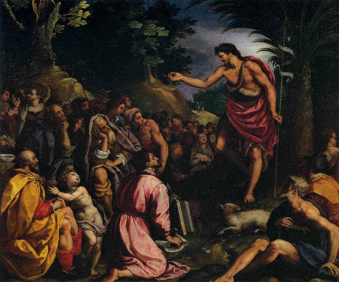 Image result for john the baptist preaching