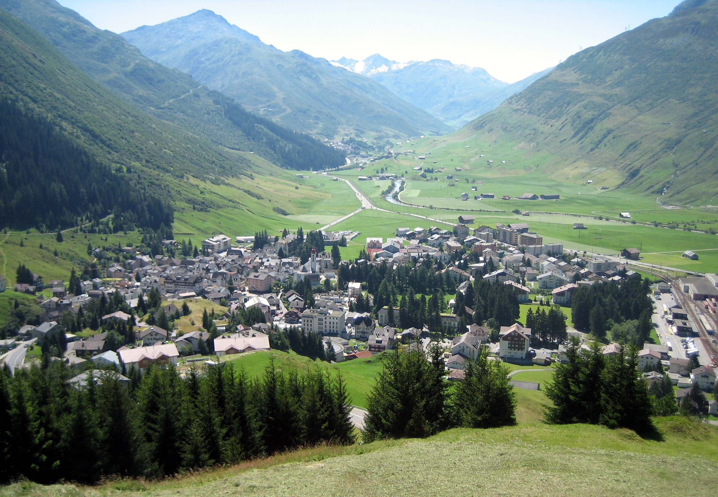 Andermatt Switzerland  City new picture : Andermatt Dorf Wikimedia Commons
