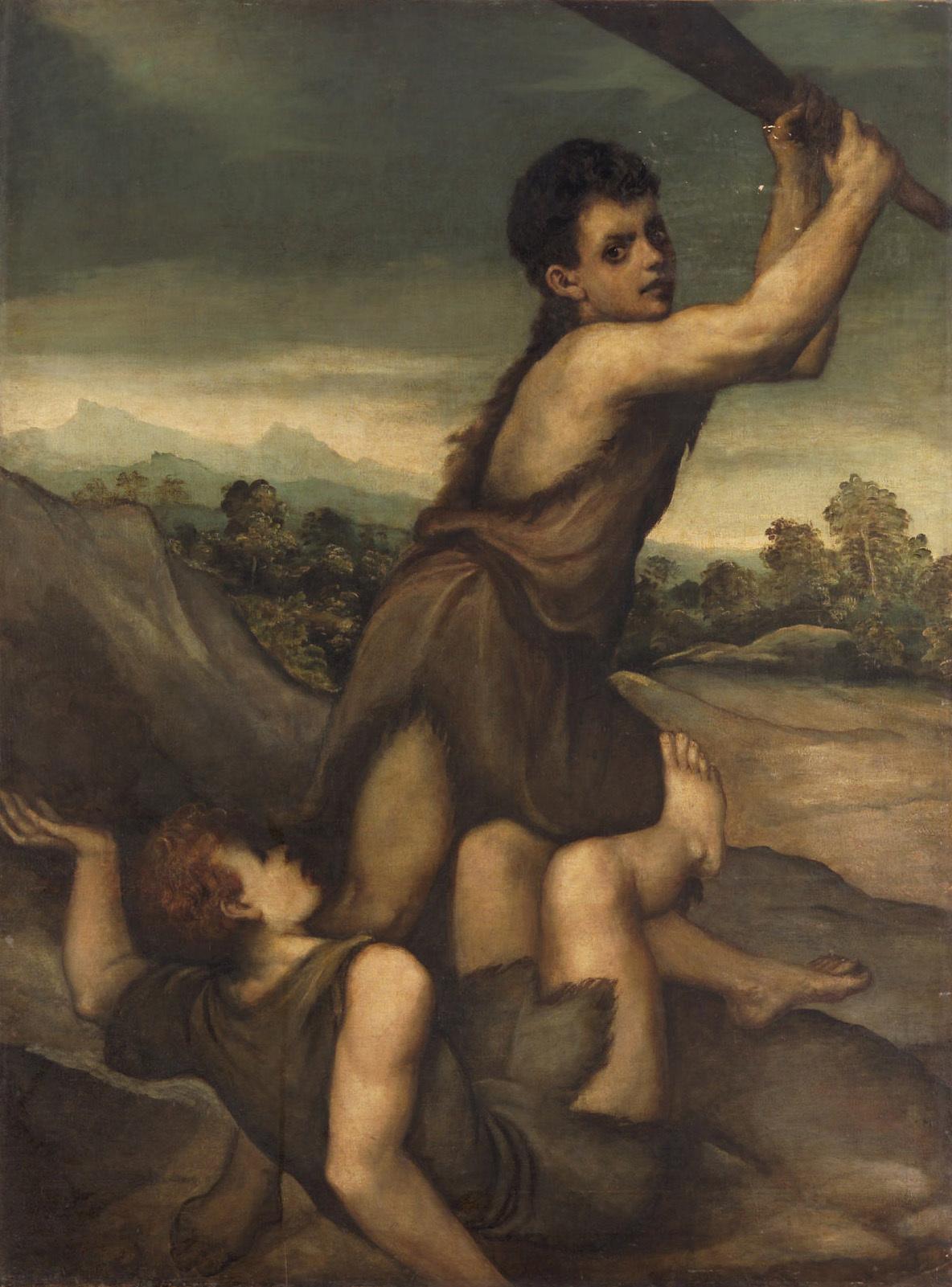 Каким предметом Каин убил Авеля?