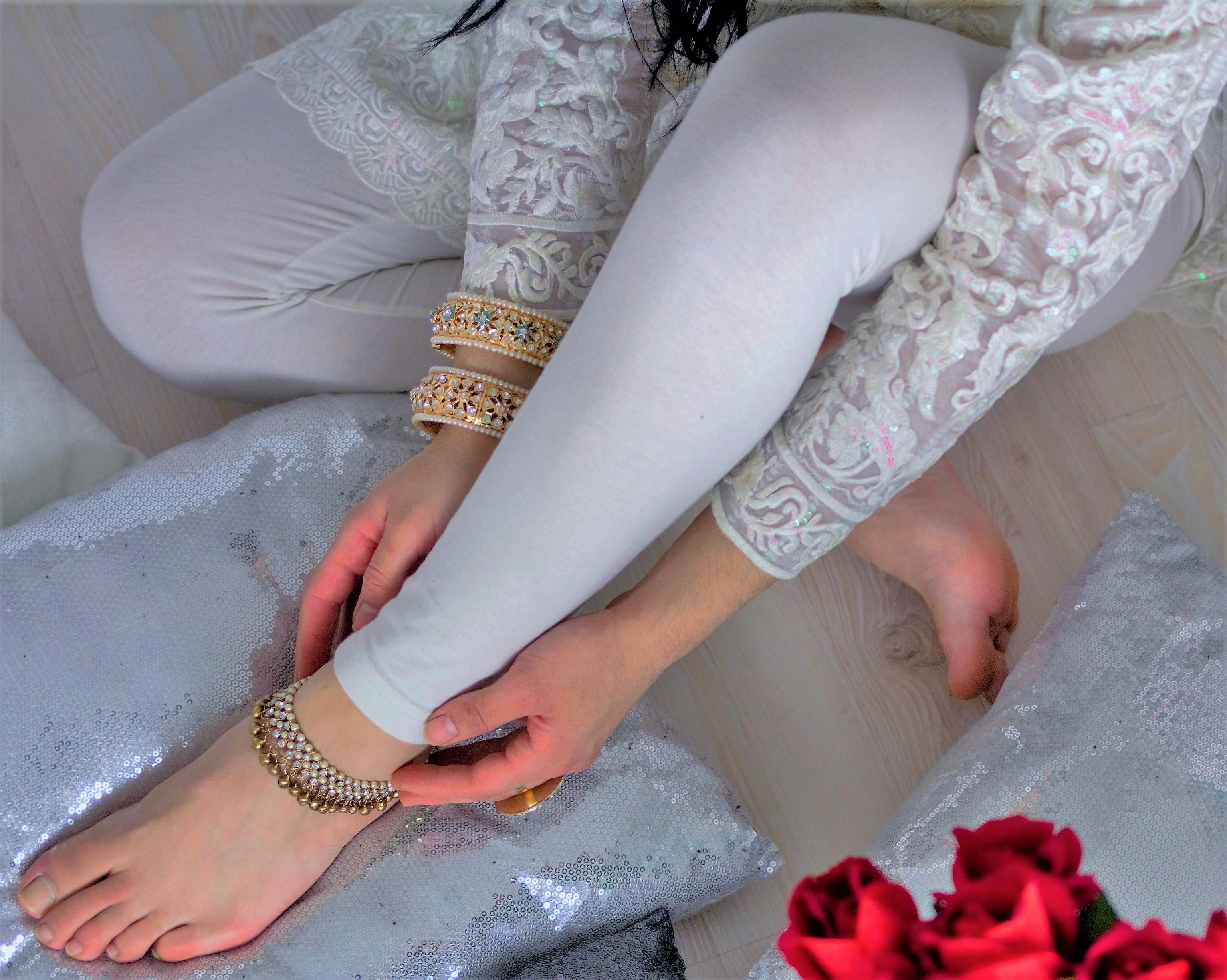 Feet muslim female Women in