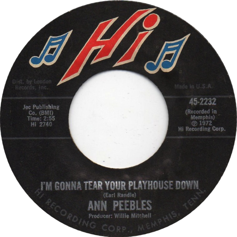 Ann Peebles Im Gonna Tear Your Playhouse Down