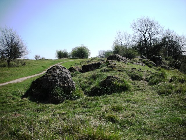 Anston Stones top path - geograph.org.uk - 1542751