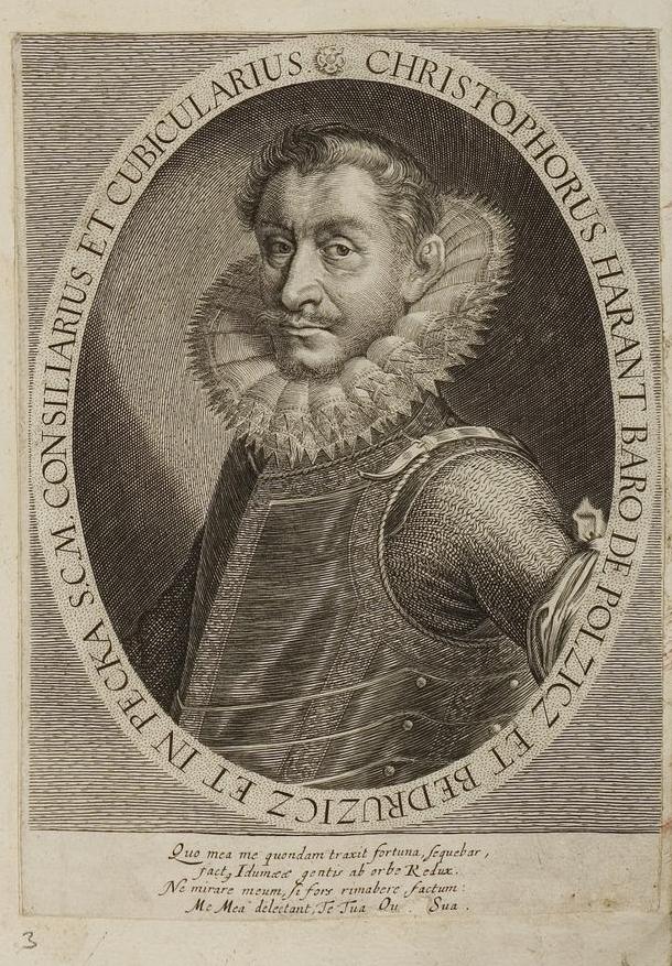 17th century portrait of Krystof Harant by [[Jacob von Sandrart