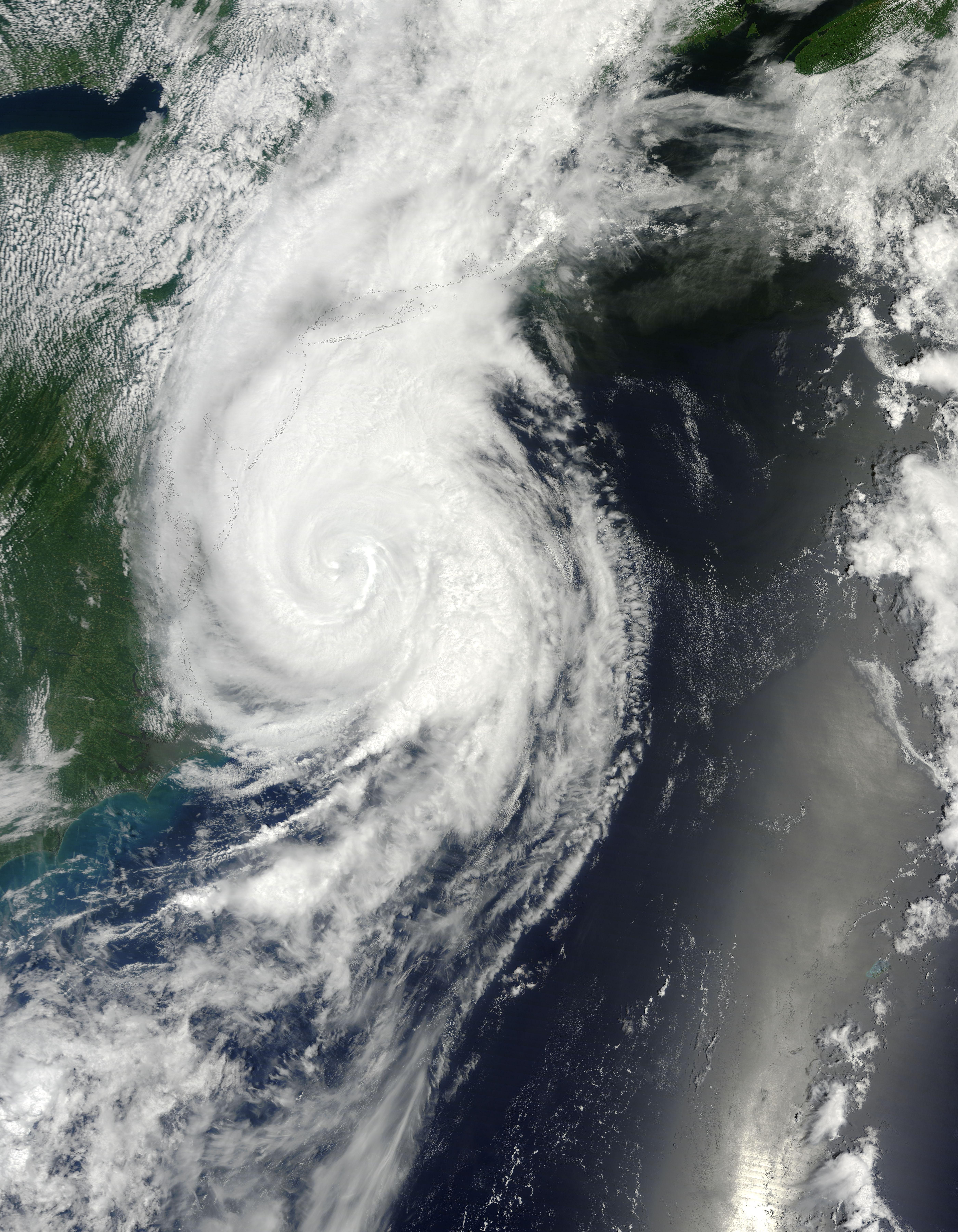 hurricane sandy atlantic ocean nasa - 700×900