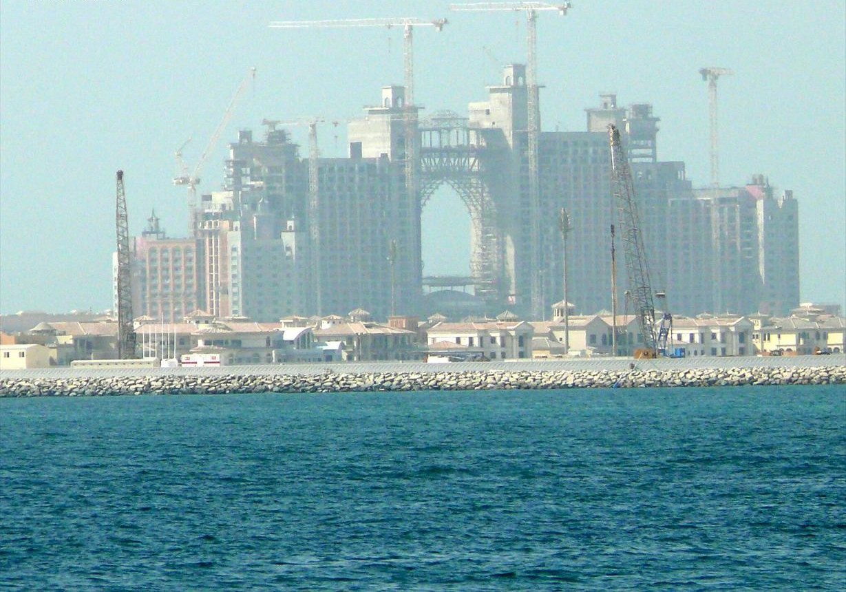 File:Atlantis The Palm Under Construction on 31 August ...