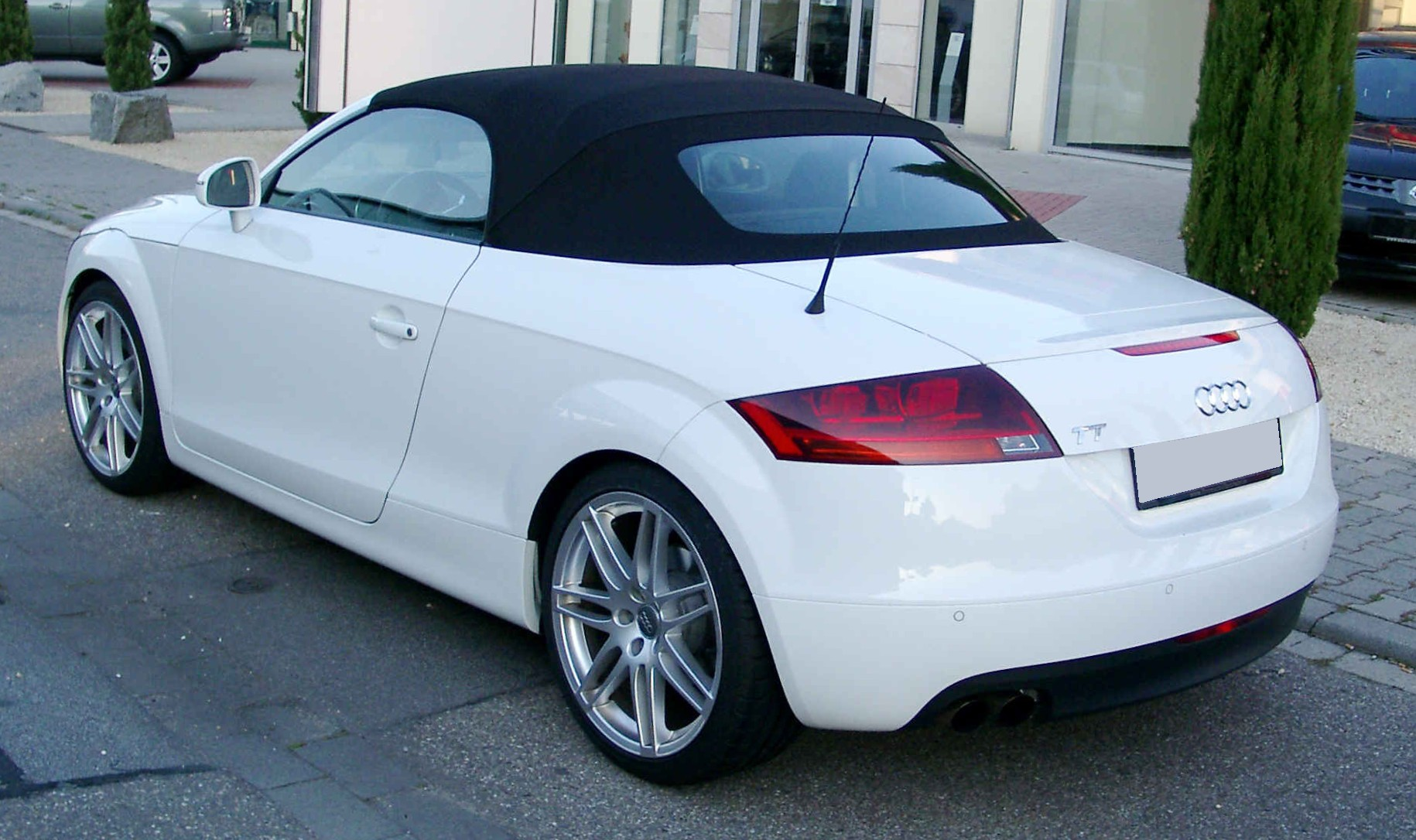 file audi tt roadster rear wikimedia commons. Black Bedroom Furniture Sets. Home Design Ideas
