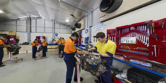 File:Automotive Workshop A on Auto Repair Shop Layout Design