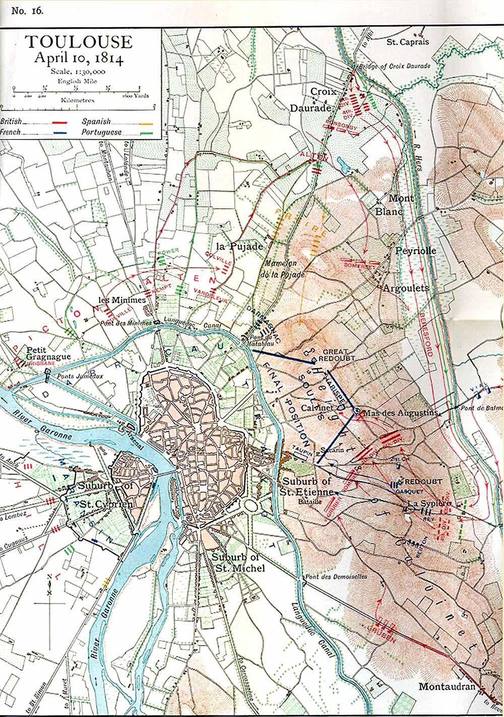 Plan De Toulouse  Centre Ville