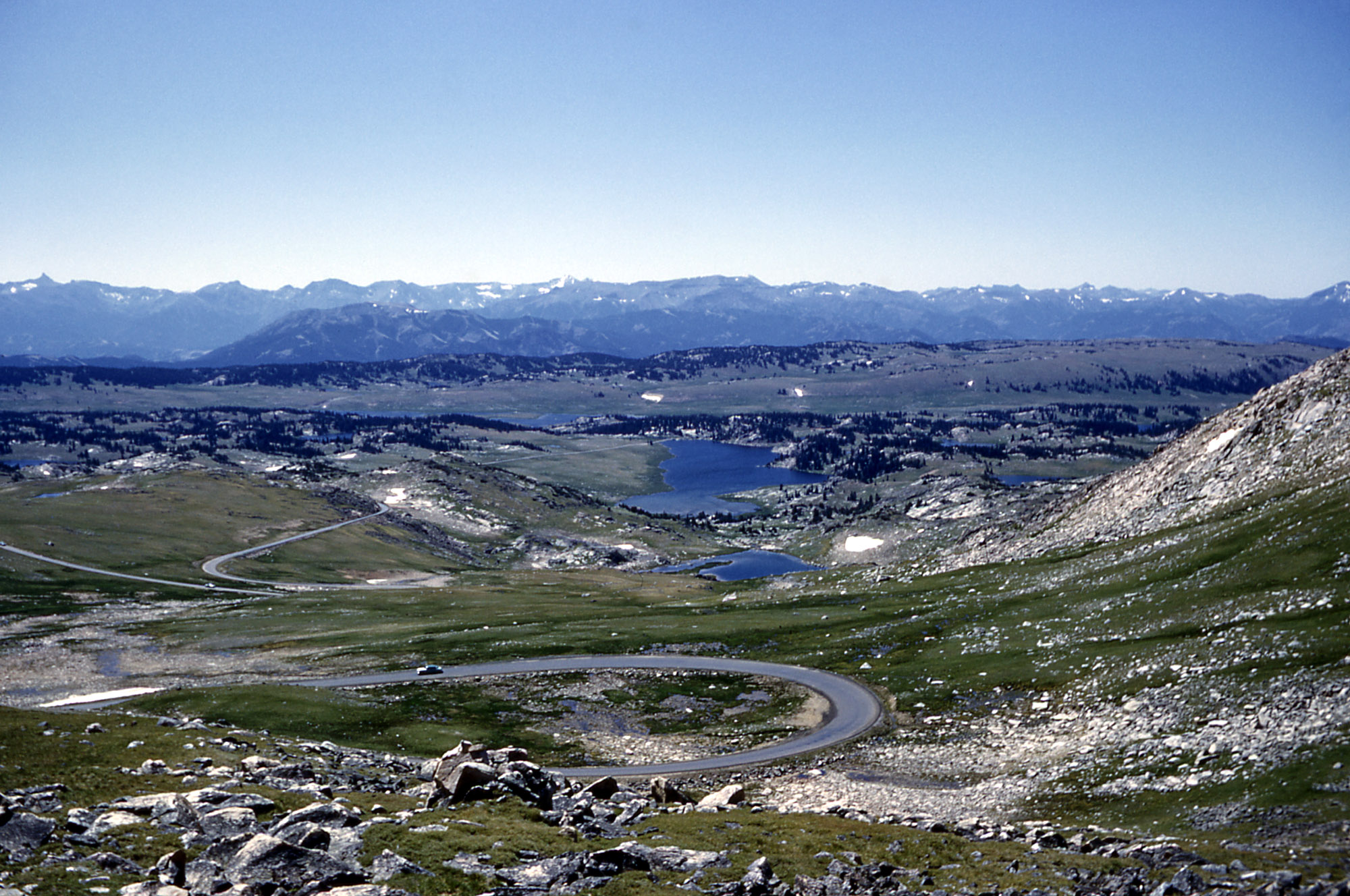 Beartooth highway winding roads