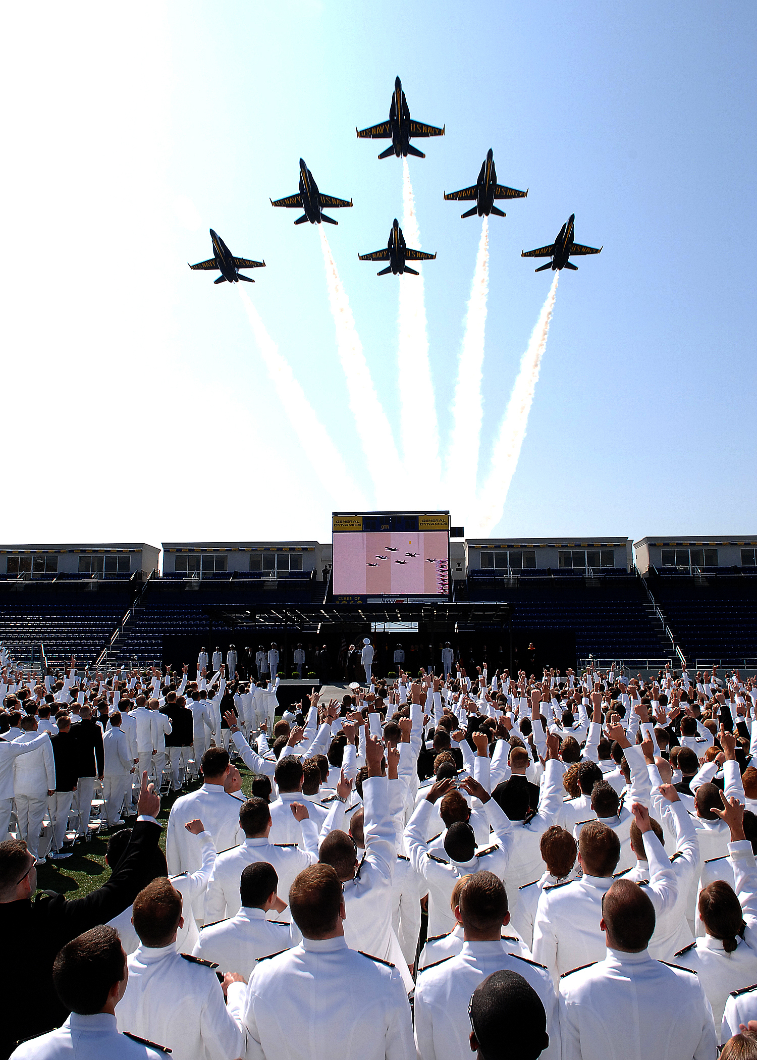 File:Blue Angels flying over ther U.S. Naval Academy's ...