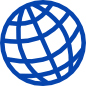 Blue globe icon.png