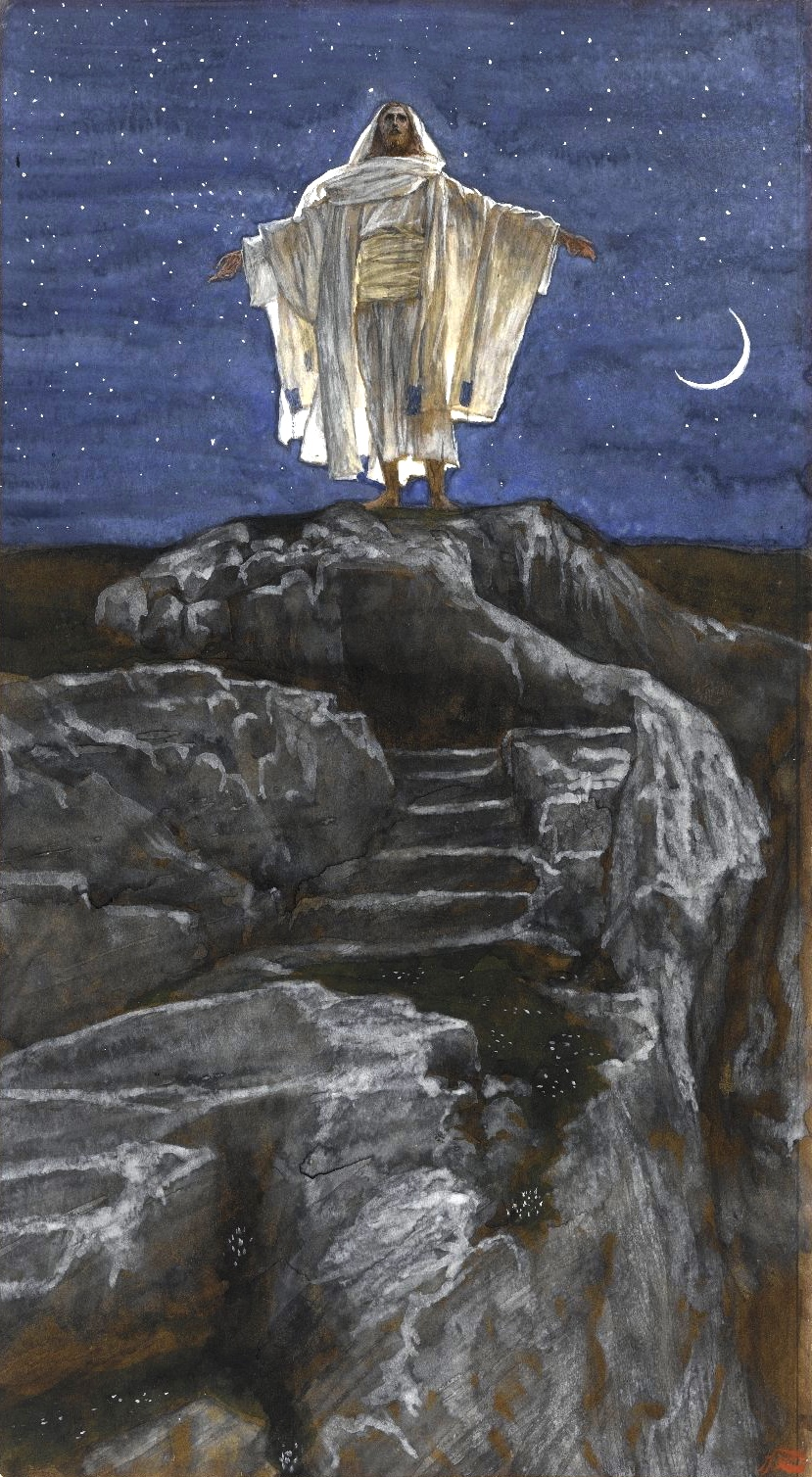 File:Brooklyn Museum - Jesus Goes Up Alone onto a Mountain to Pray ...