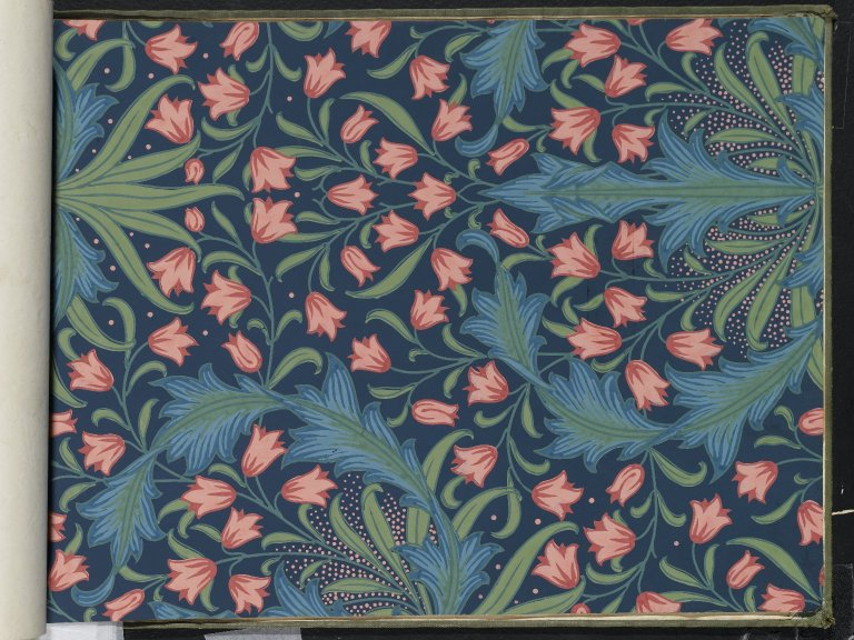 File:Brooklyn Museum  Wallpaper Sample Book 1  William Morris and Company  page124.jpg