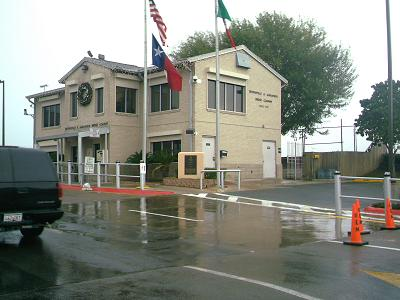 A view of the Brownsville & Matamoros Bridge office Brownsville & Matamoros Bridge office.jpg