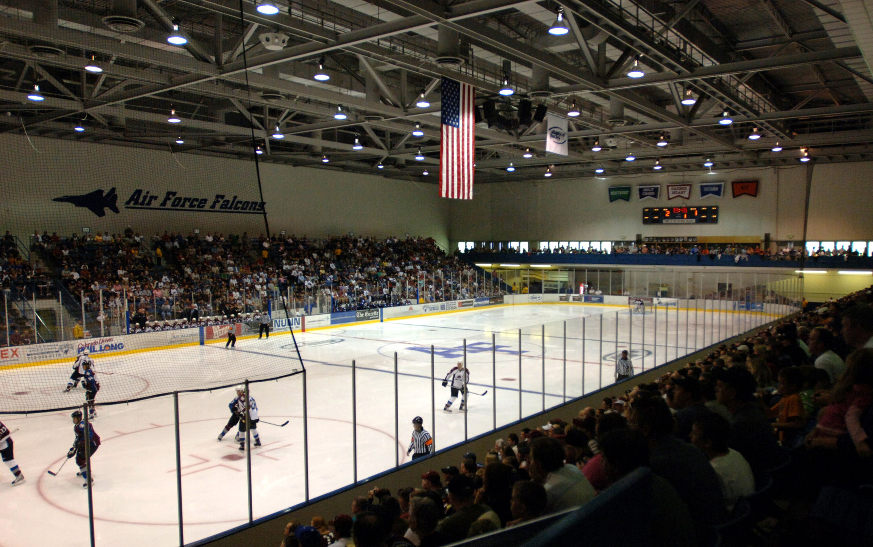 Atlantic Hockey Conference Arenas Collegehockey