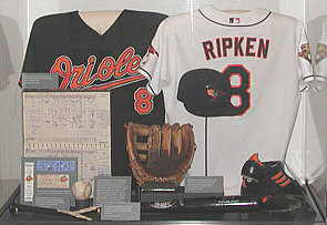 Cal Ripken exhibit at HOF
