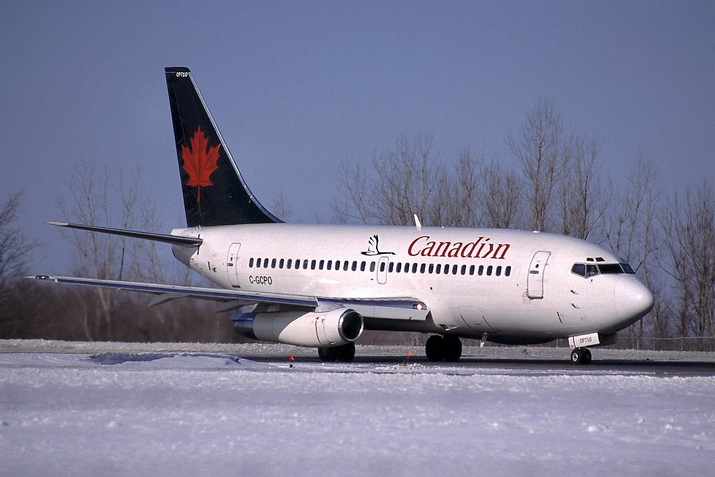 canadian airline: