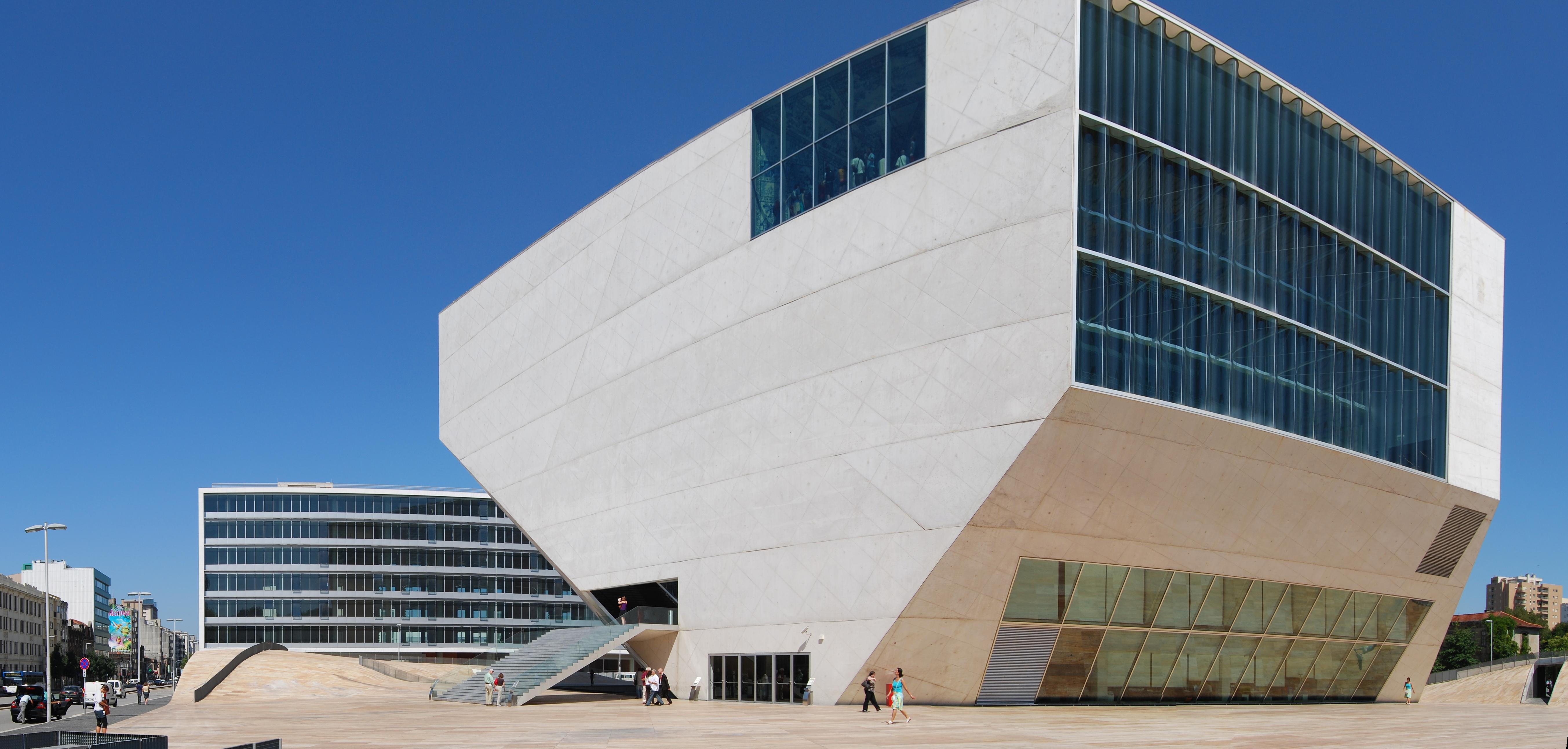 Exterior view of Casa da Musica