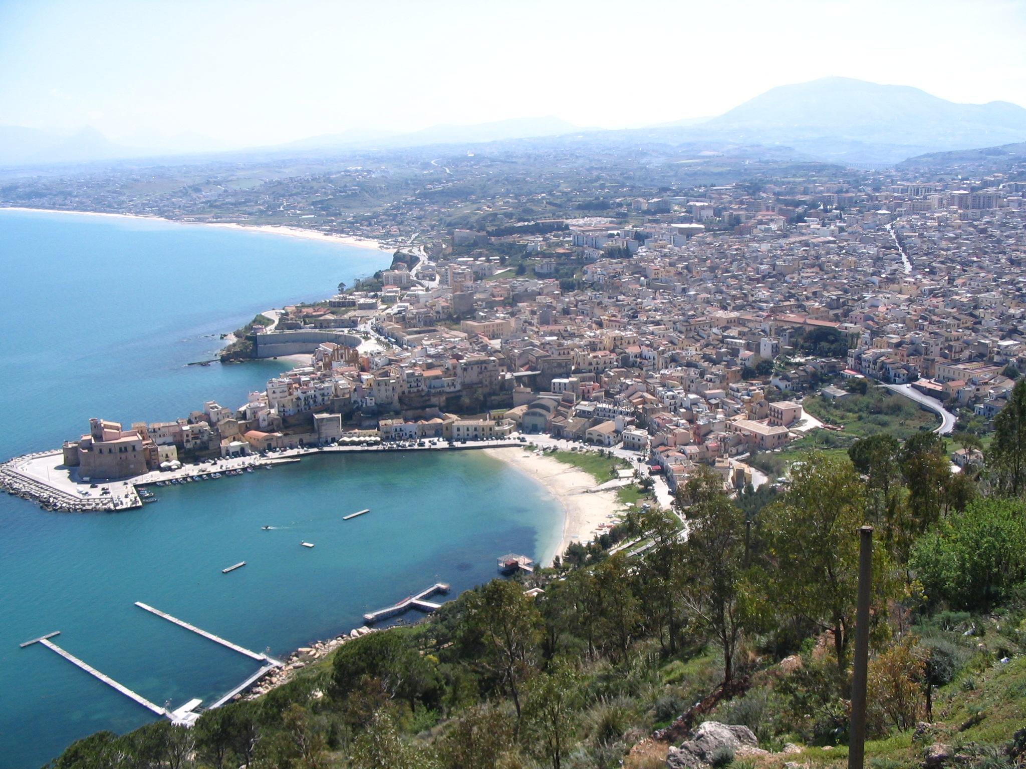 Castellammare del Golfo Italy  city photos gallery : Description Castellammare del Golfo Sicilia