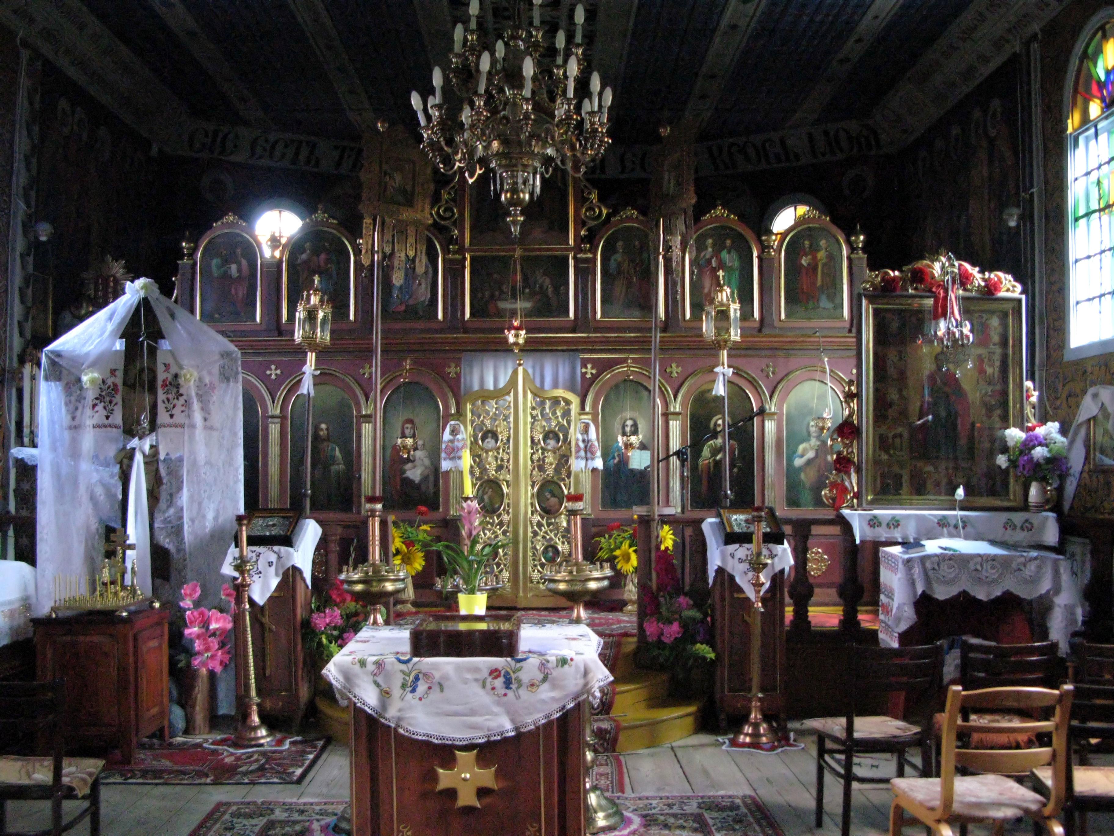 Cerkiew unicka, ob. kościół rzym.-kat. par. p.w. św. Nicefora (drewn., XVIIXVIII, 1852) Kostomłoty 07 JoannaPyka.JPG