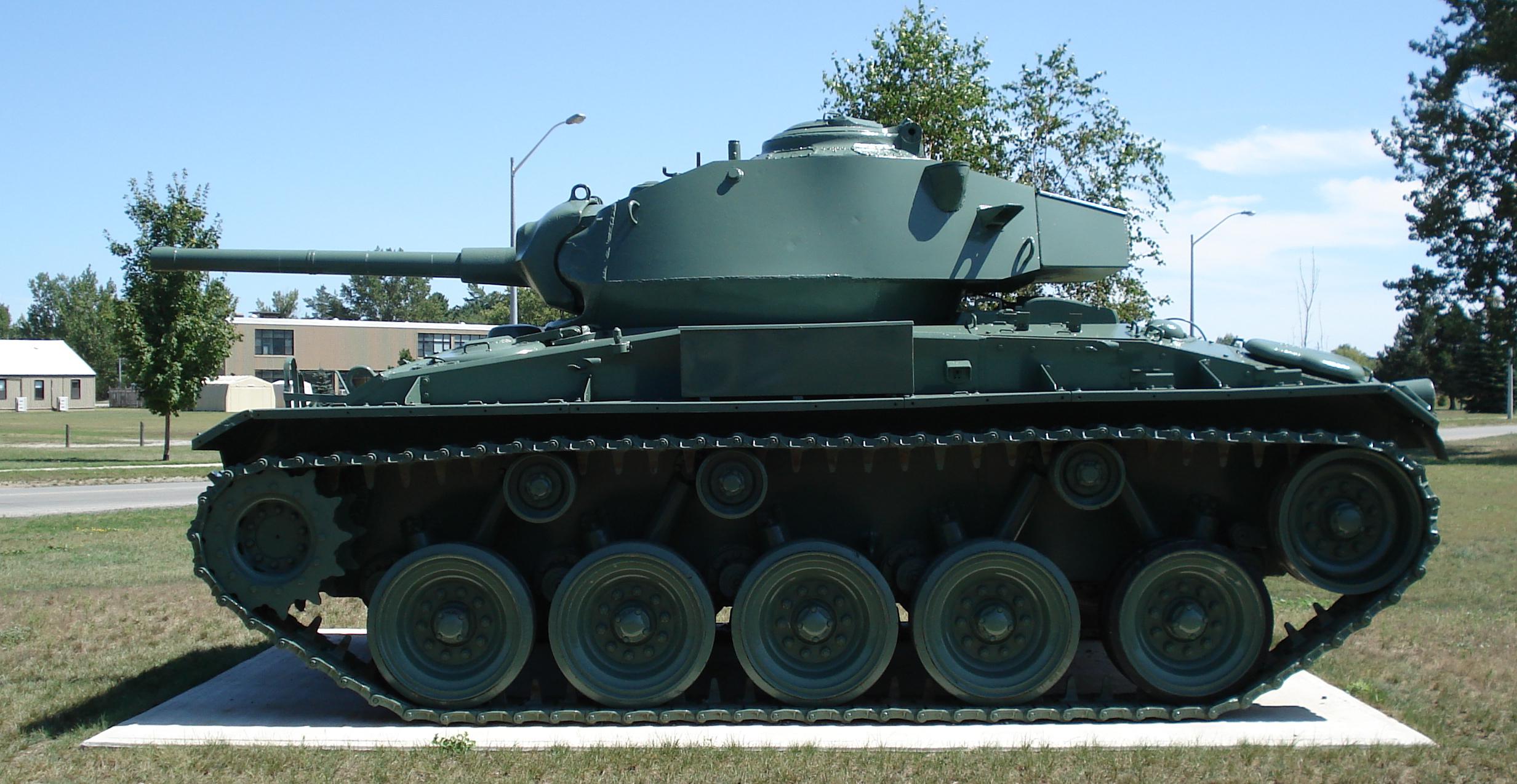 German 50 Mm Anti Tank Gun: File:Chaffee Light Tank Cfb Borden 3.jpg