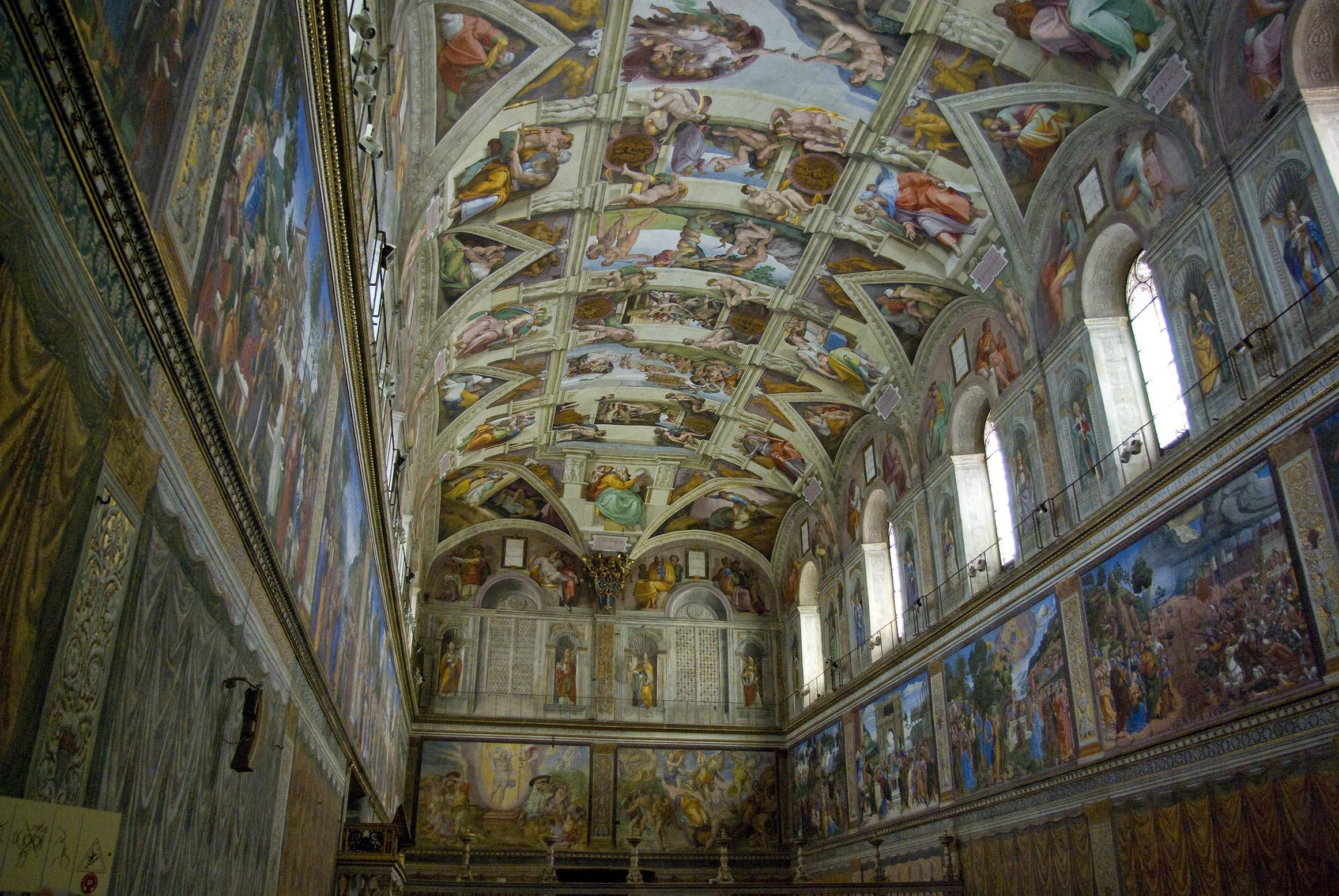 Histoire5 chapelle sixtine for Exterieur chapelle sixtine