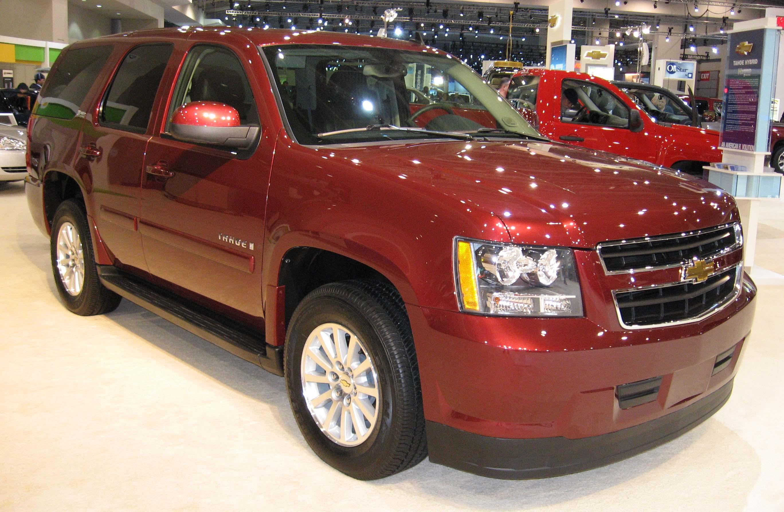 File Chevrolet Tahoe Hybrid Dc Jpg