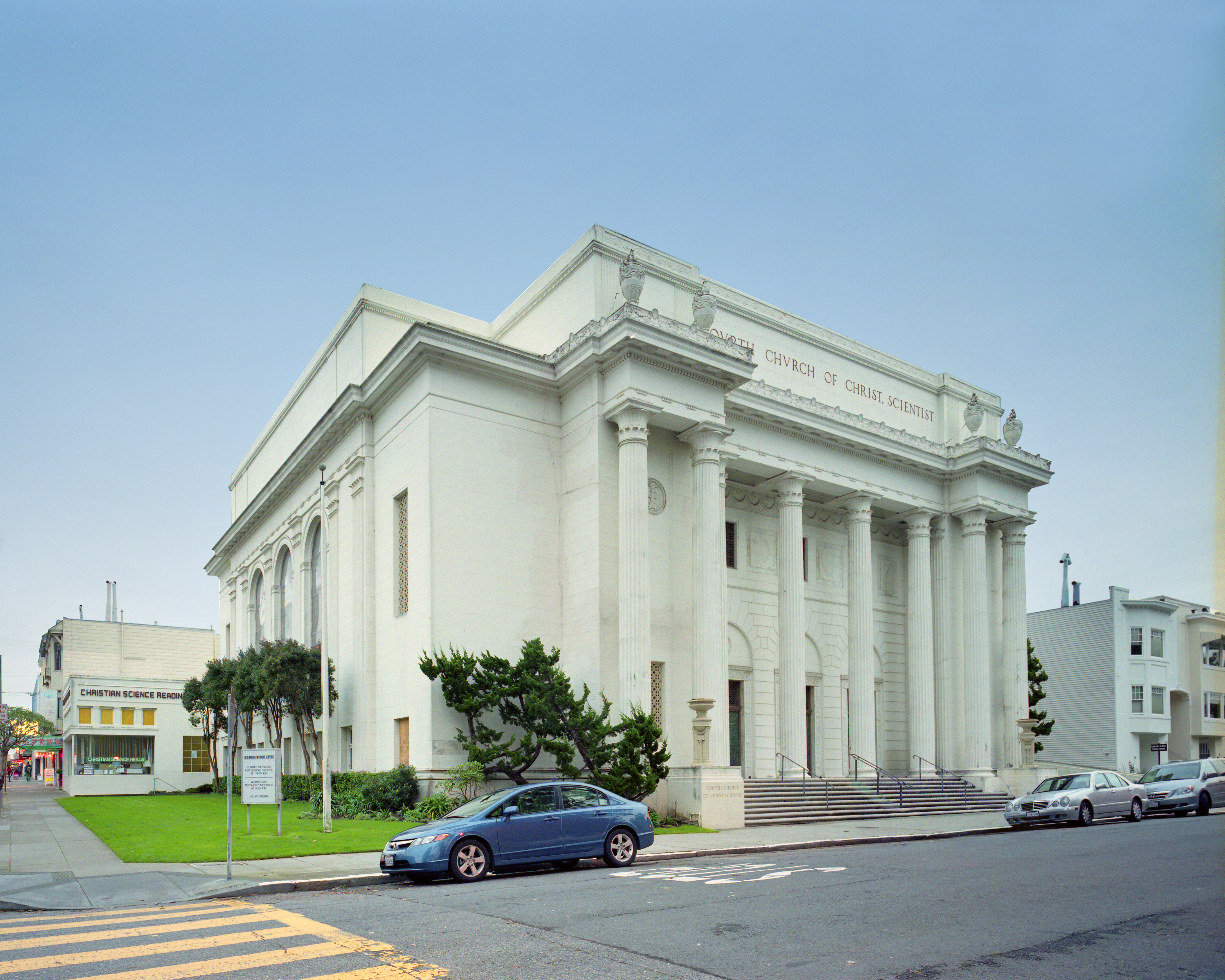 As of November 2009, new Internet Archive headquarters at 300 Funston in San Francisco, CA, a former Christian Science Church