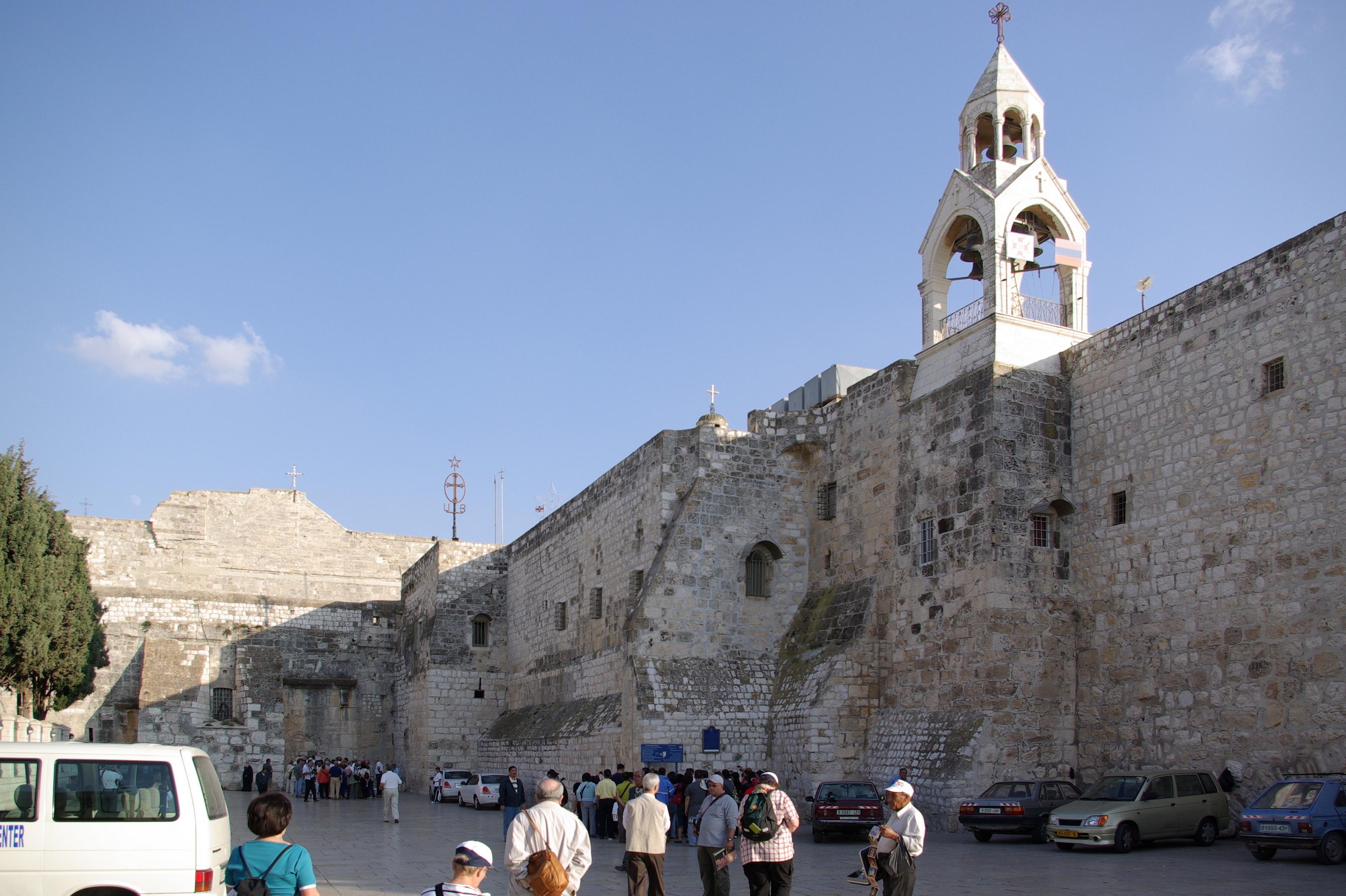 Geburtskirche in Bethlehem. (Quelle: Berthold Werner via Wikimedia Commons, gemeinfrei)