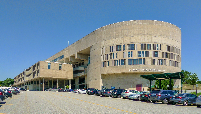 File Community College Of Rhode Island Knight Campus Side Jpg