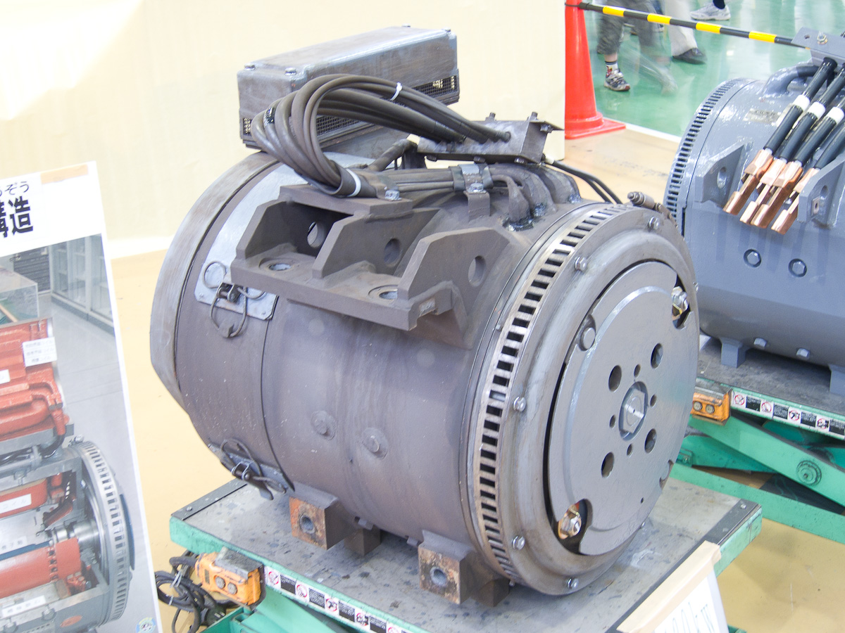 File Dc 130kw Traction Motor Of Seibu