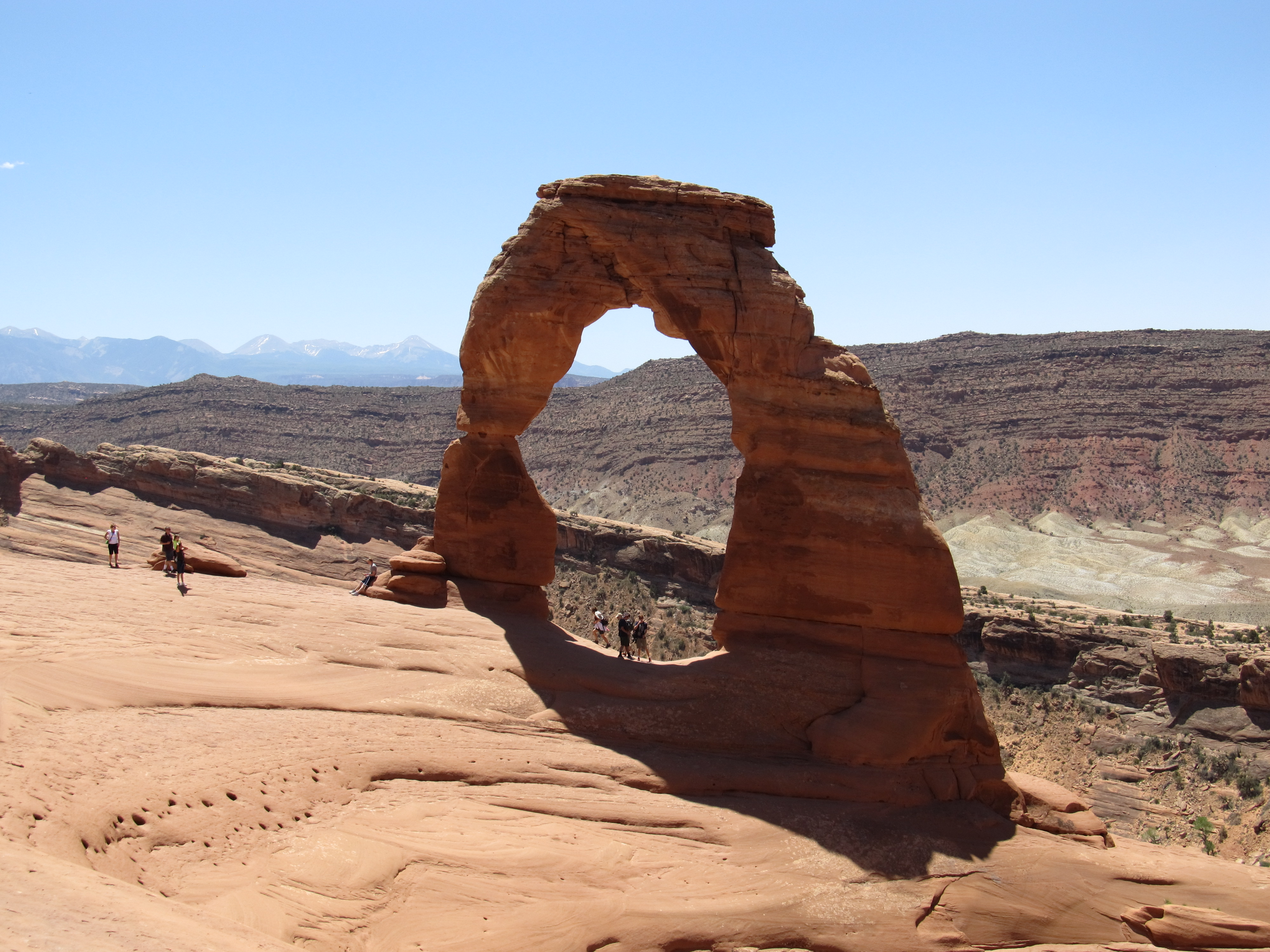 Delicate Arch at Arches National Park, Moab Utah [OC