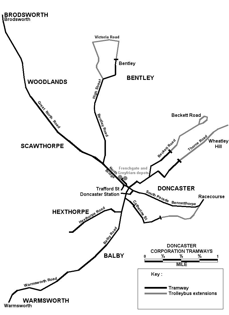 doncaster tramway