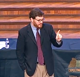 Dr. Andrew C. Thompson teaching at the Tennessee Annual Conference of the United Methodist Church in Brentwood, TN, on June 10, 2014.