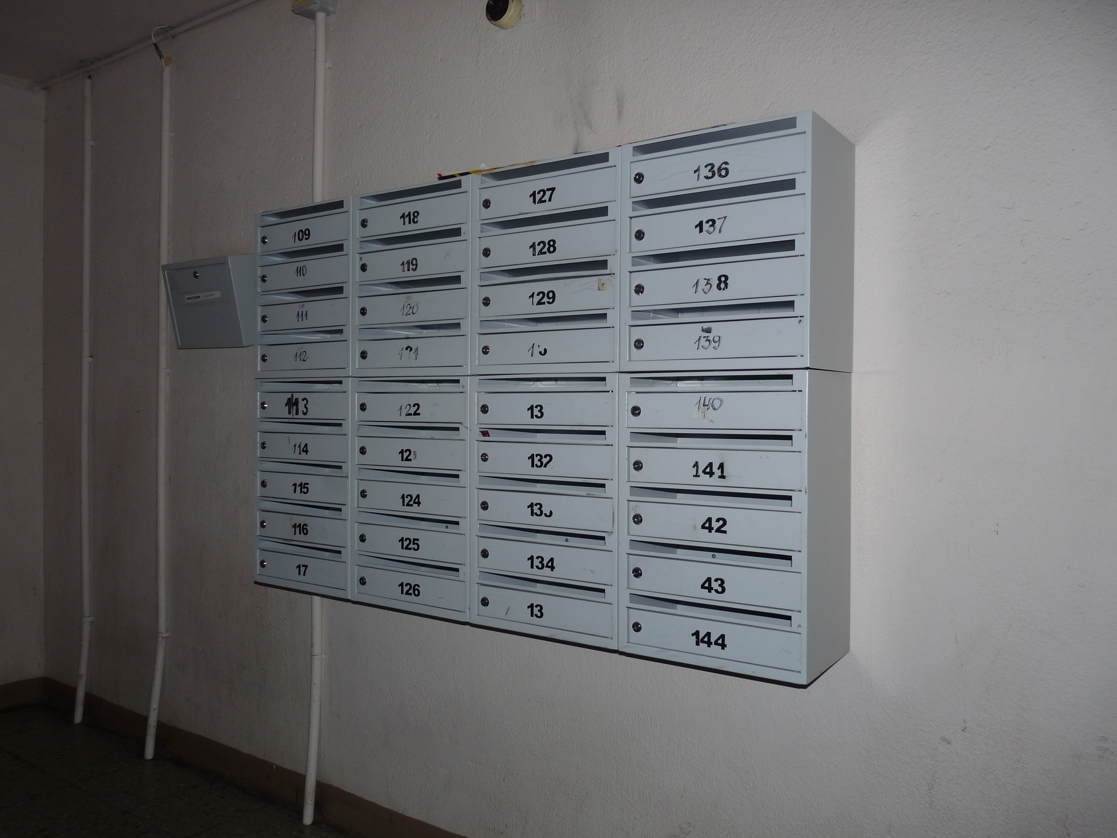 building mailboxes