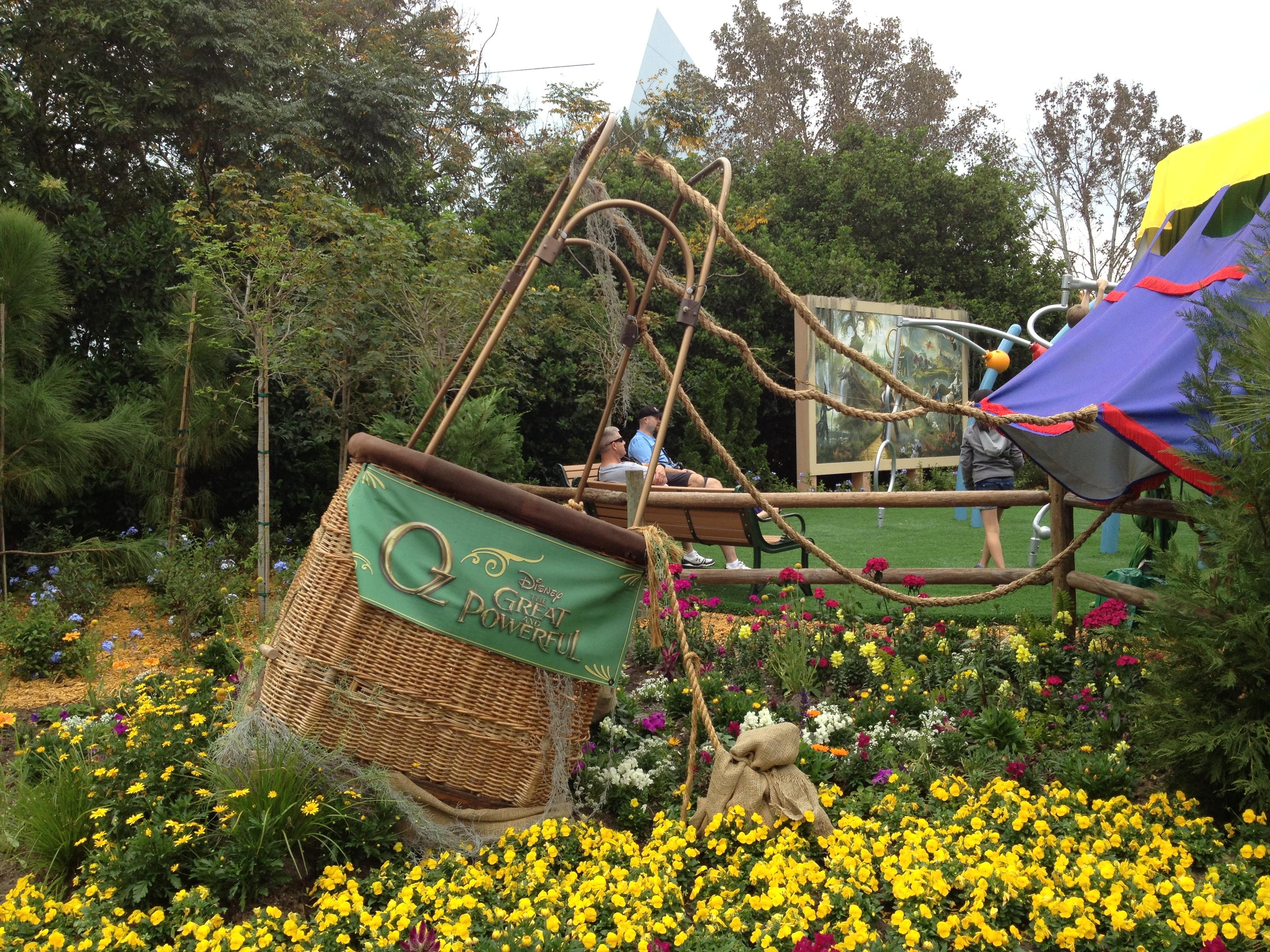 File:Epcot\'s Oz Garden and play area (8550988135).jpg - Wikimedia ...