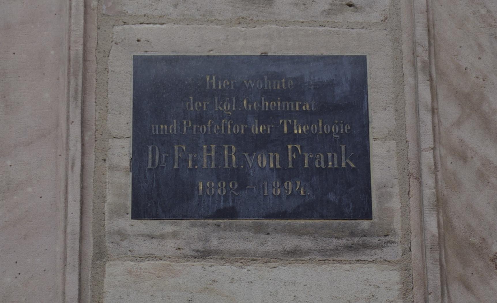 Franz Hermann Reinhold von Frank