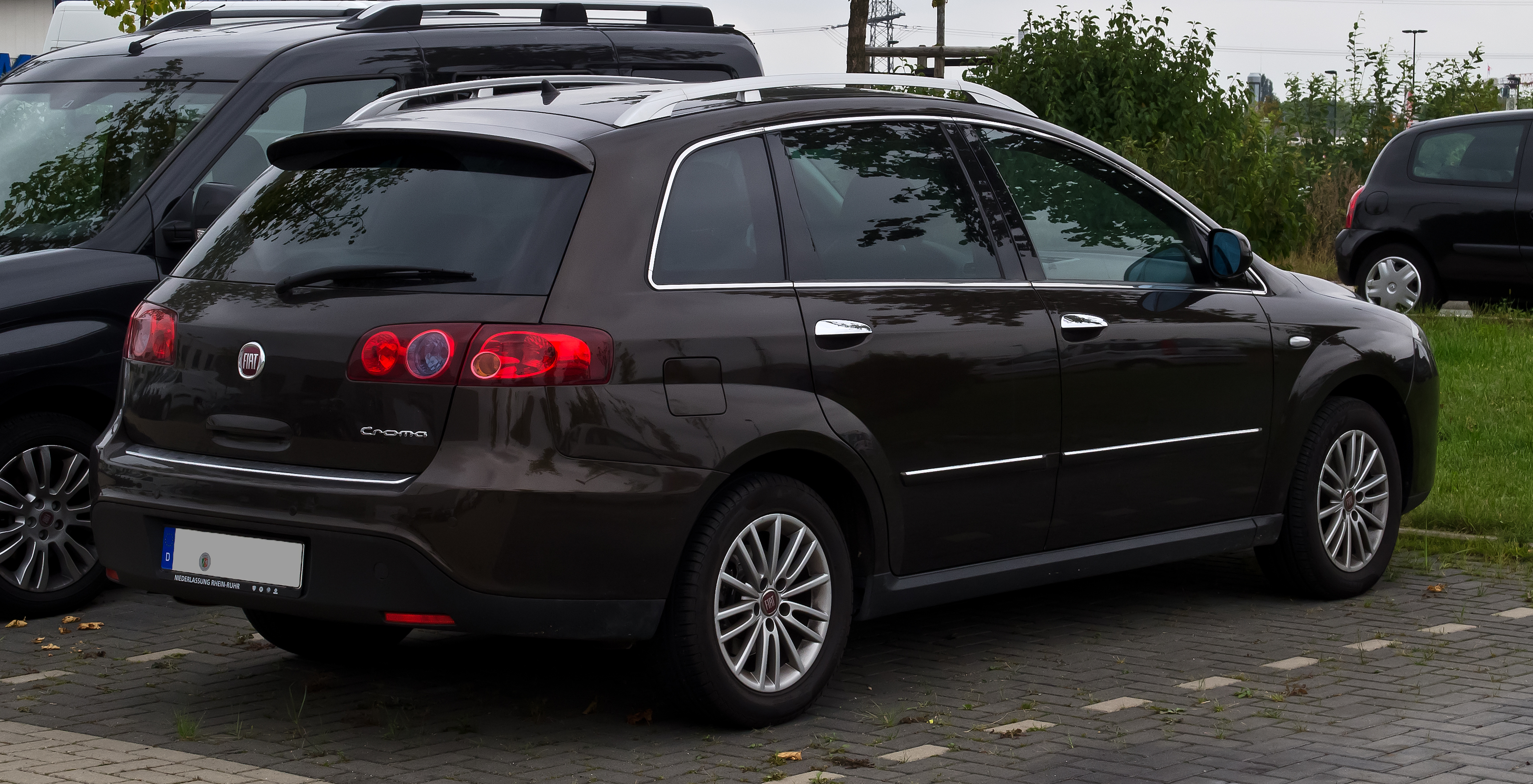 File:Fiat Croma (II, Facelift) – Heckansicht, 17 ...