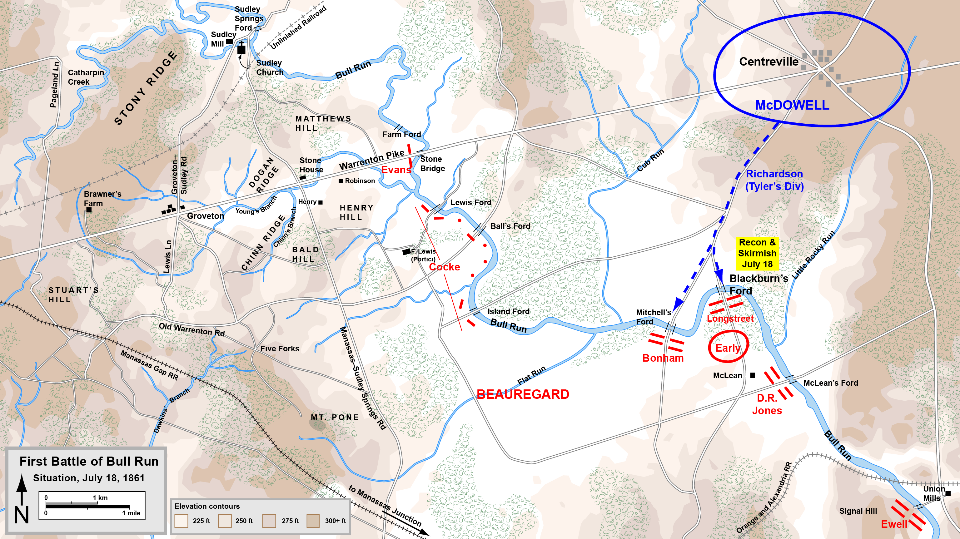 FileFirst Bull Run Julypng Wikimedia Commons - How far did i run map
