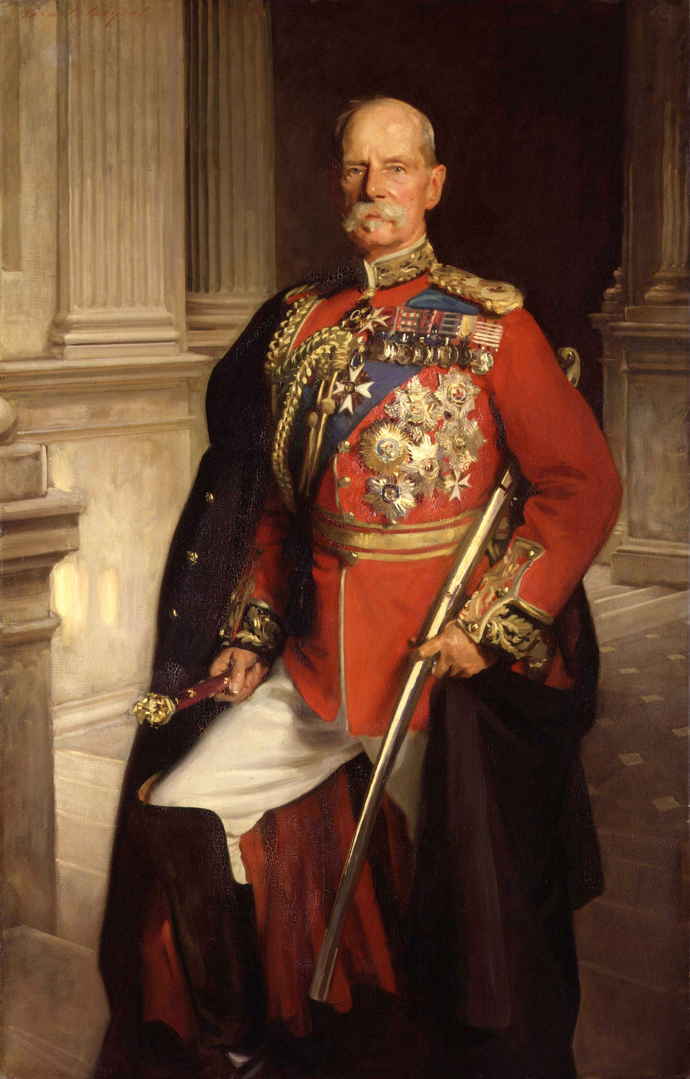 File frederick sleigh roberts 1st earl roberts by john for John s painting