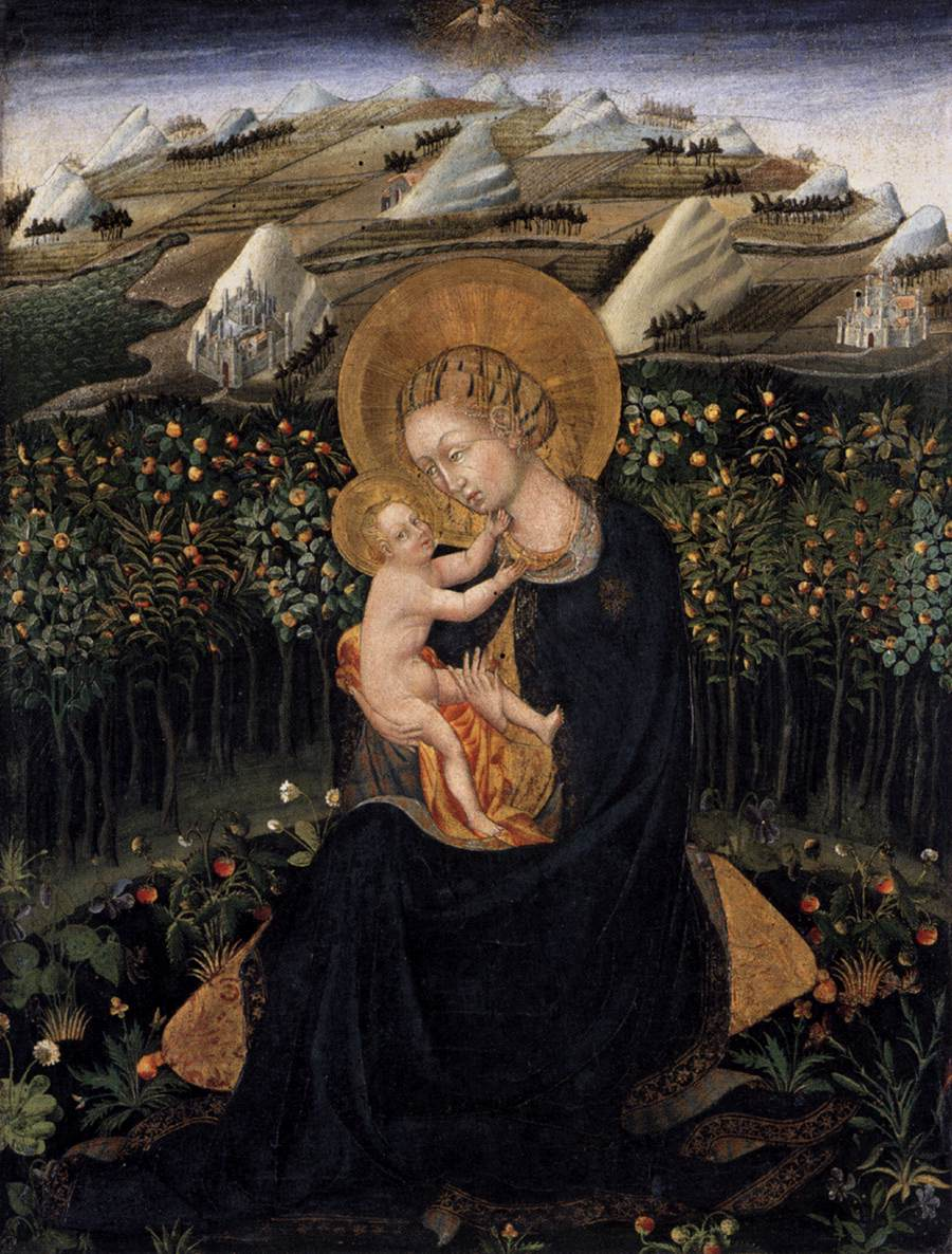 file giovanni di paolo  madonna of humility  boston jpg